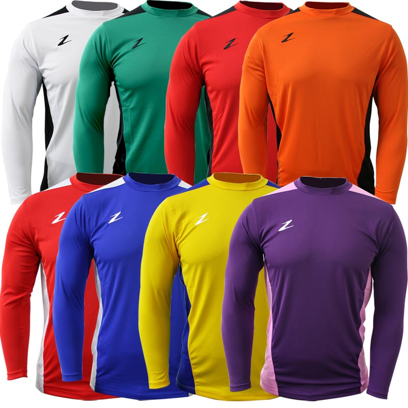 Ziland Team Long Sleeve Junior Football Shirt
