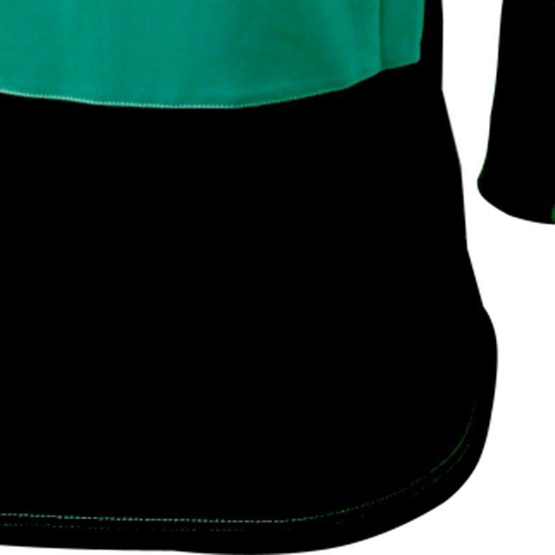 Ziland Team Long Sleeve Junior Football Shirt Green/Black