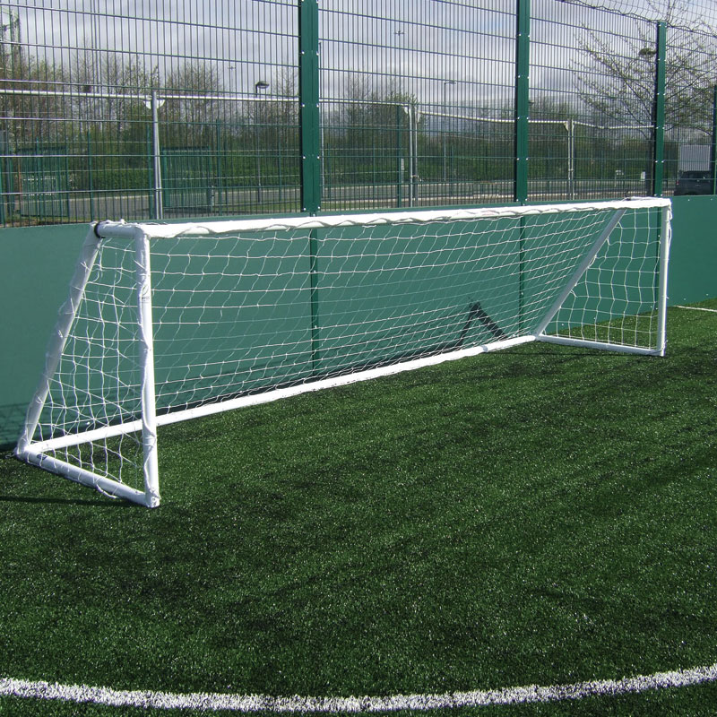 Harrod Sport 5 v 5 Heavy Duty Galvanised Football Posts