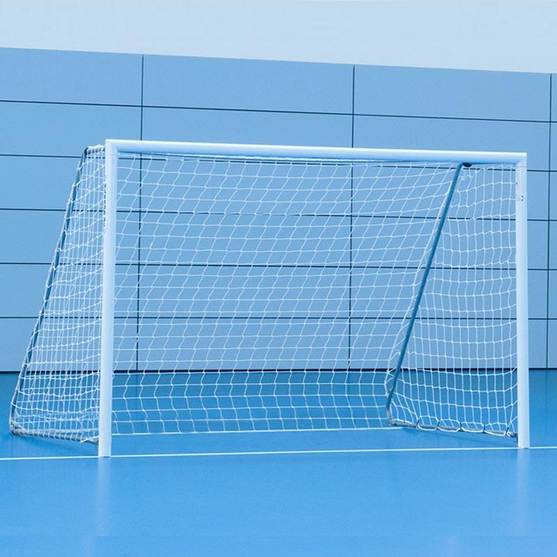 Harrod Sports 10ft x 7ft Floor Fixed Aluminium Football Posts