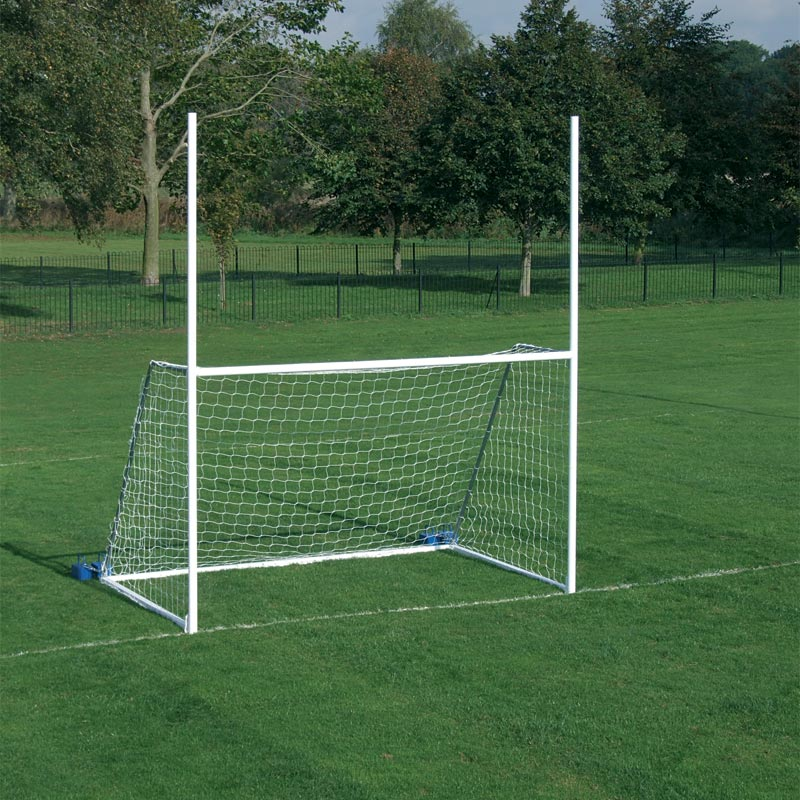 Harrod Sport Freestanding Steel Junior Gaelic Football Posts