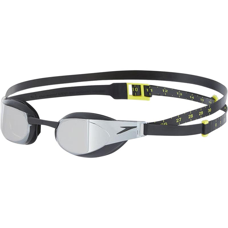 Speedo Fastskin Elite Mirror Goggle Black/Dark Chrome