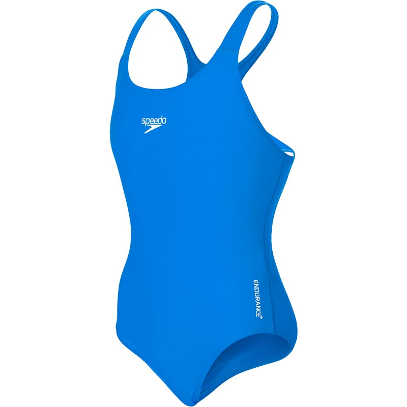 Speedo Endurance+ Medalist Swimsuit Neon Blue
