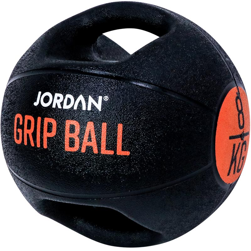 Jordan Fitness Double Grip Medicine Ball