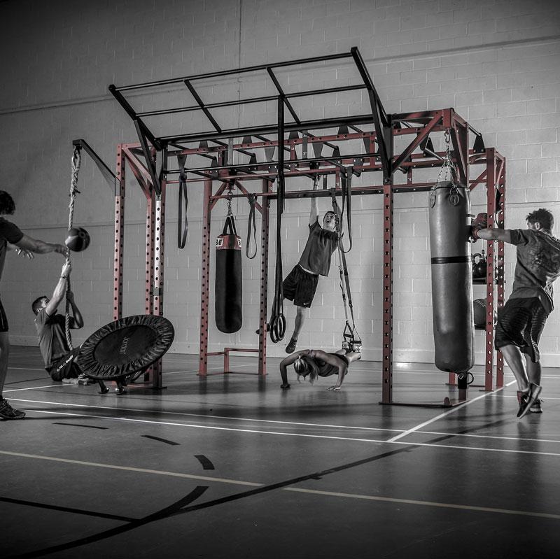 Used Squat Rack >> BeaverFit Performance Functional Training Rig