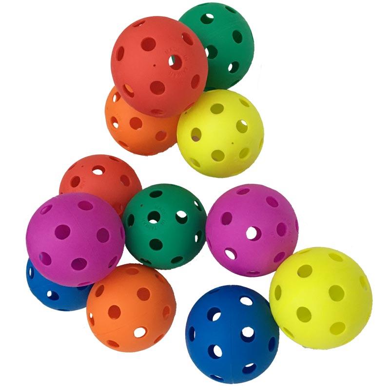 PLAYM8 Zoft Airflow Balls 12 Pack 9cm