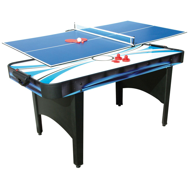Mightymast Typhoon 2 in 1 Air Hockey and Table Tennis Table