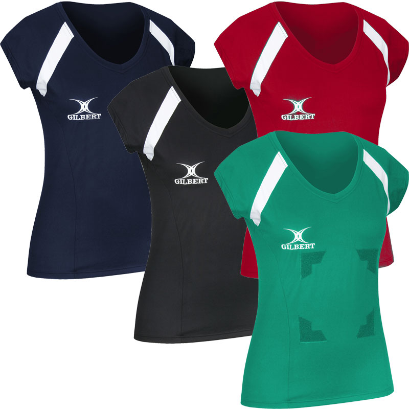 Gilbert Helix Netball Top