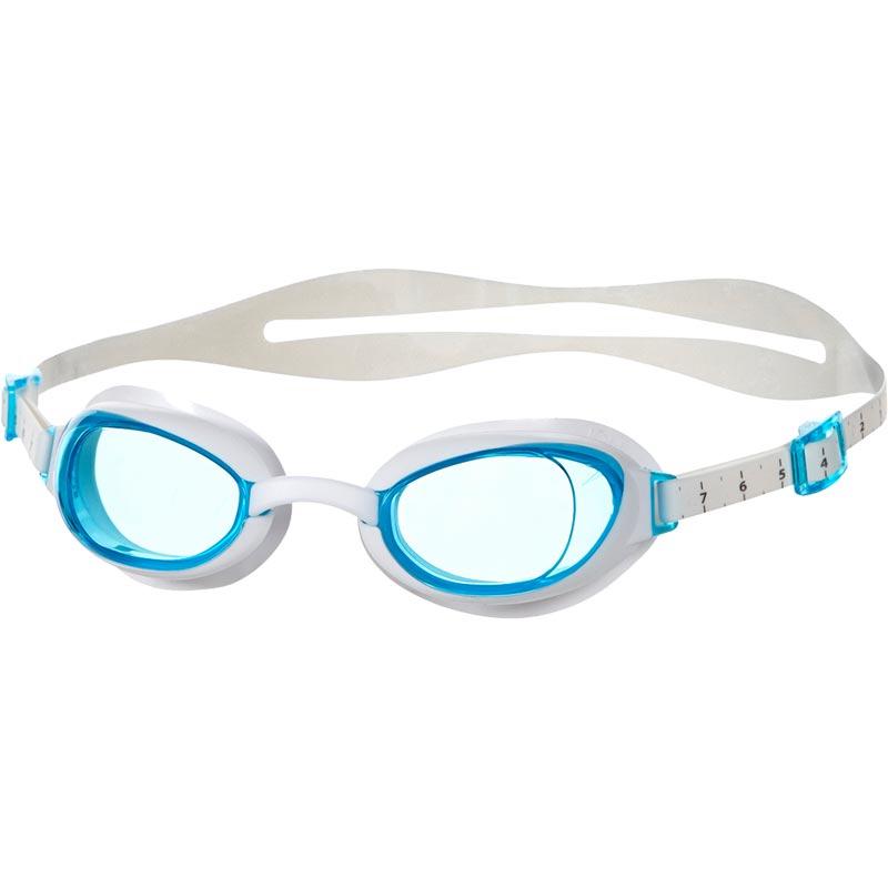 Speedo Aquapure Female Swimming Goggles White/Blue