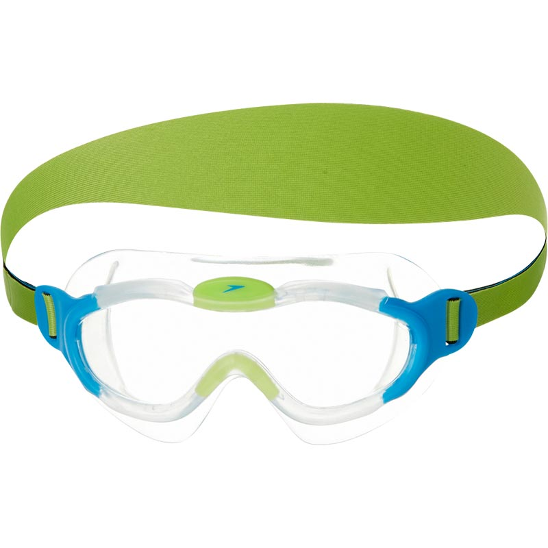 Speedo Sea Squad Junior Swimming Mask Blue/Green