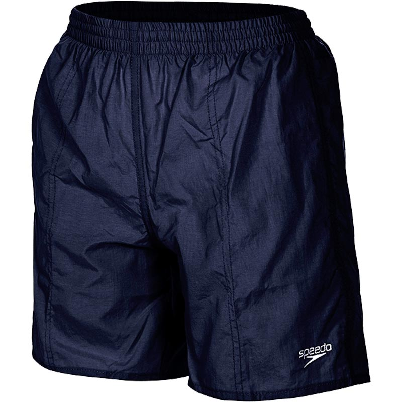 Speedo Boys Solid Leisure Swim Shorts Navy
