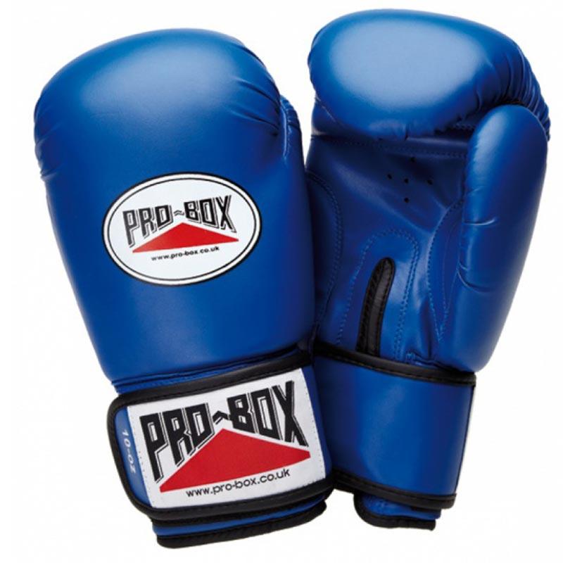 Pro Box Base Spar Senior Sparring Gloves Blue