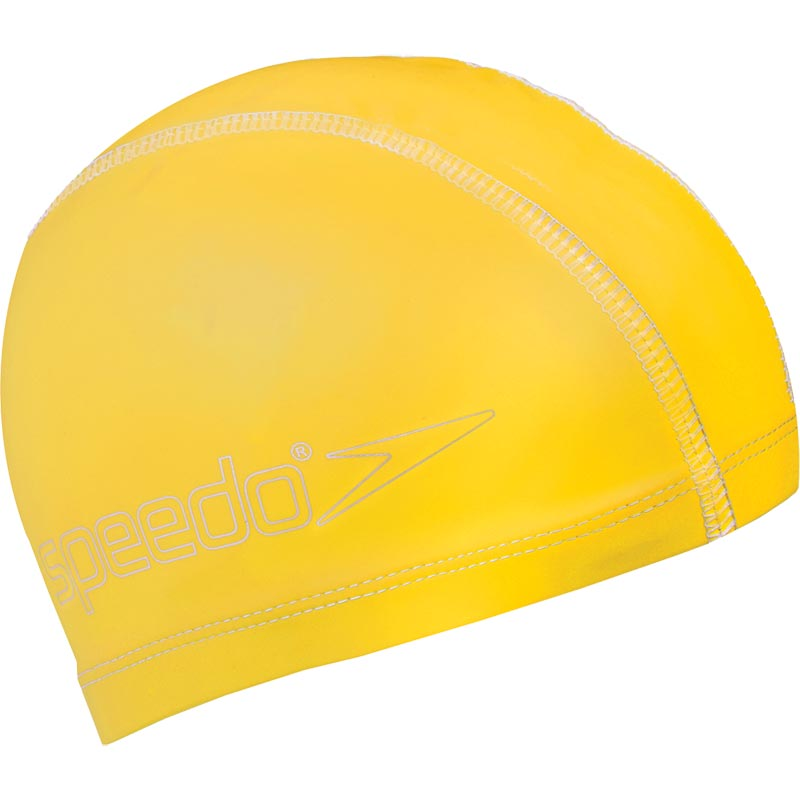 Speedo Junior Pace Swimming Cap Yellow