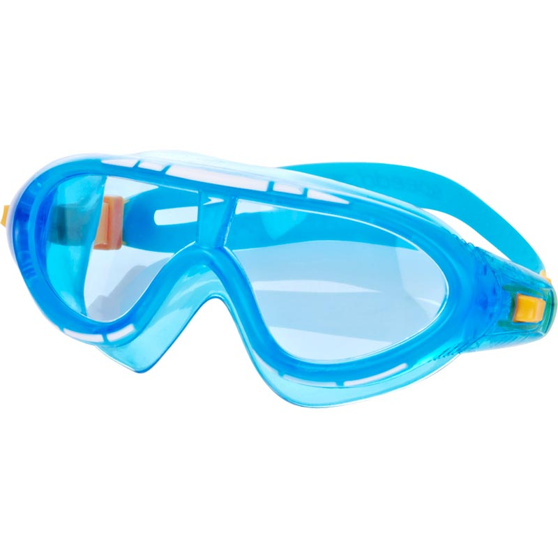 Speedo Junior Rift Swimming Mask Blue/Yellow