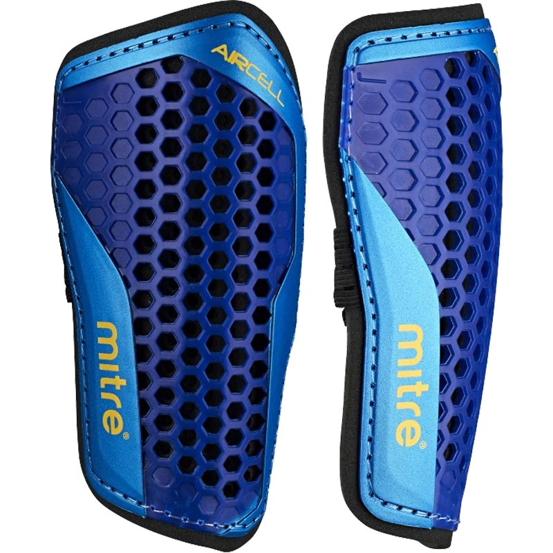 Mitre Aircell Carbon Slip Shin Guards