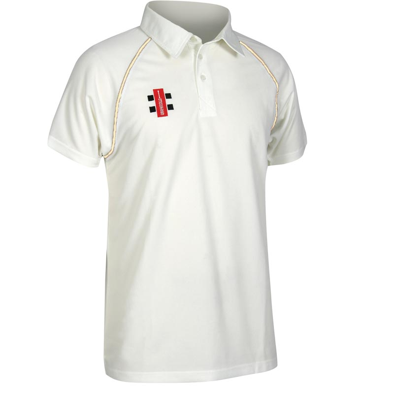 Gray Nicolls Matrix Short Sleeved Cricket Shirt