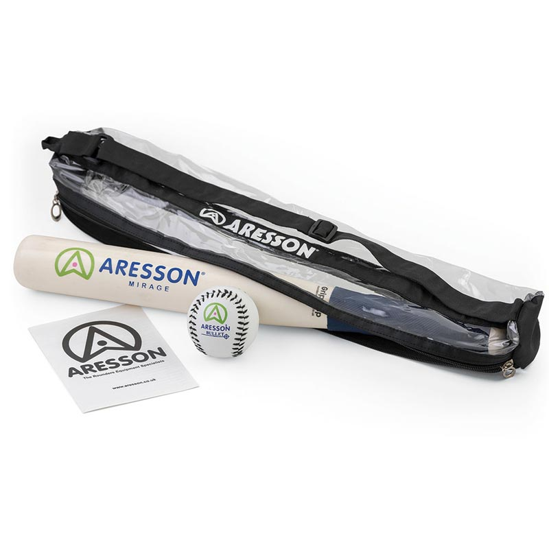 Aresson Mirage Rounders Bat and Ball Pack