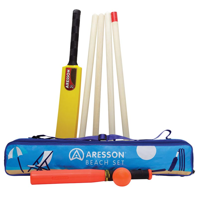 Aresson Beach Rounders and Cricket Set
