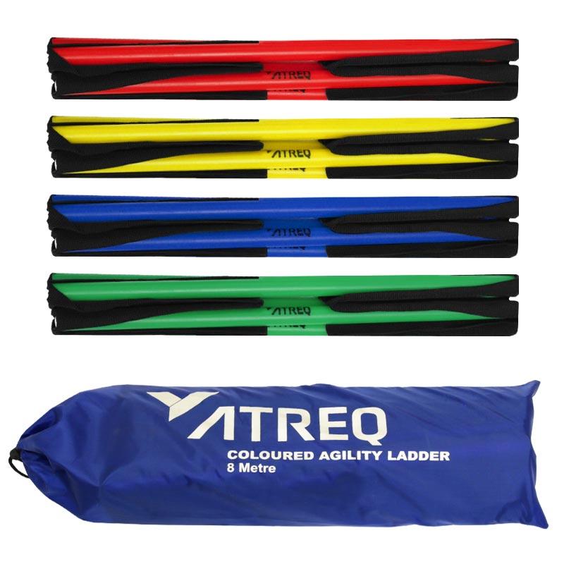 ATREQ Multi Coloured Round Rung Ladder