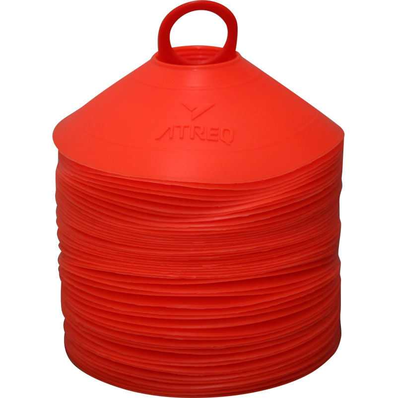 ATREQ Marking Cones 50 Set Orange