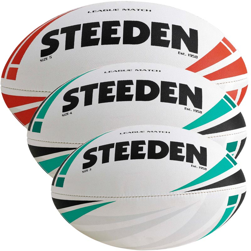 Steeden League Match Rugby Ball