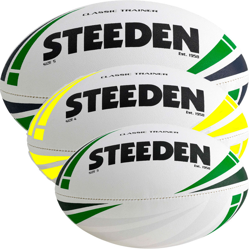 Steeden Classic Trainer Rugby Ball