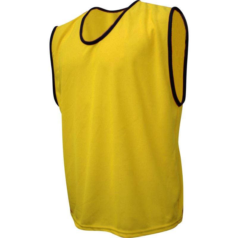 Newitts Printable Polyester Bib Yellow