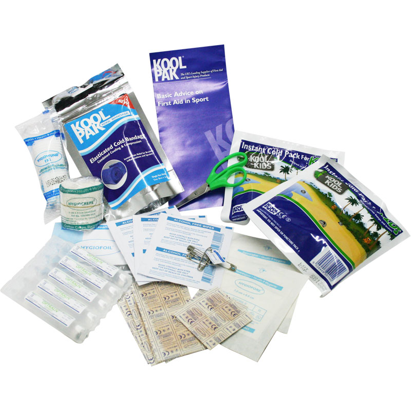 Koolpak Junior Sports First Aid Kit Refill