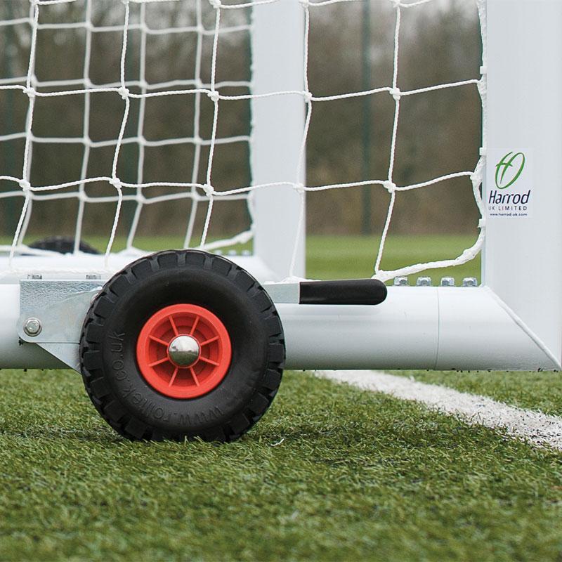 Harrod Sport Hi Raise Aluminium Portagoal Wheel Kit Set of 8