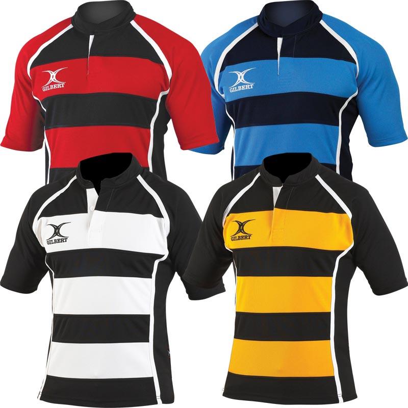 Gilbert Xact Hoop Senior Rugby Shirt