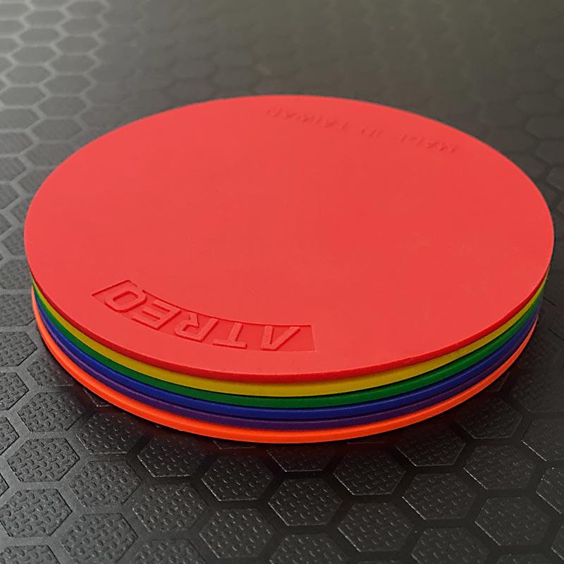 ATREQ Rubber Anti-Slip Marking Spots