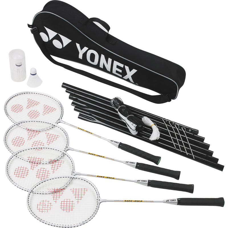 Yonex GR303S Badminton Racket and Net Set
