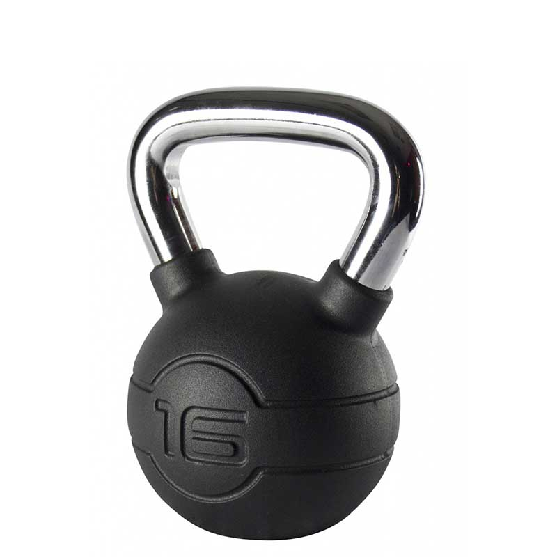 Jordan Rubber Covered Kettlebell