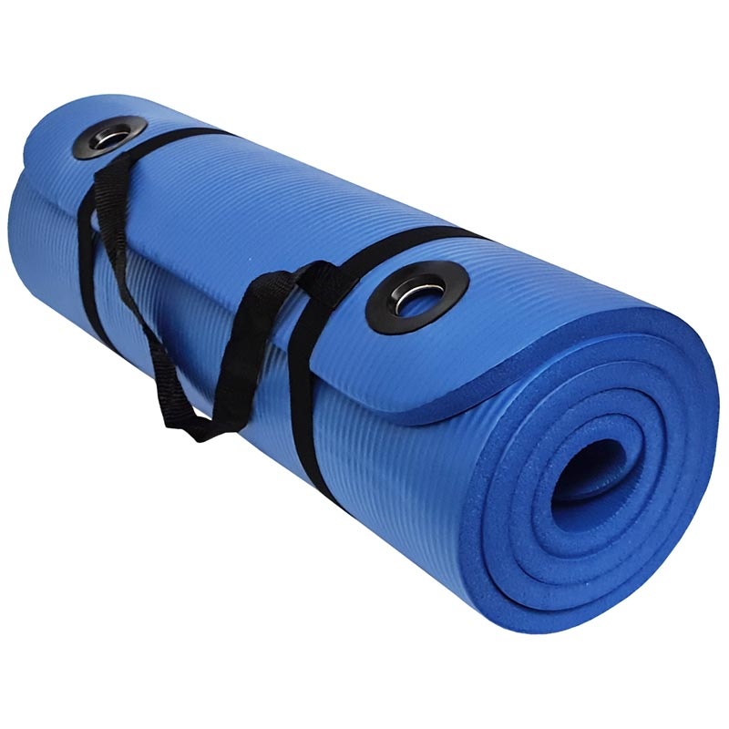 Beemat Premium Exercise Mat with Eyelets 1.8m