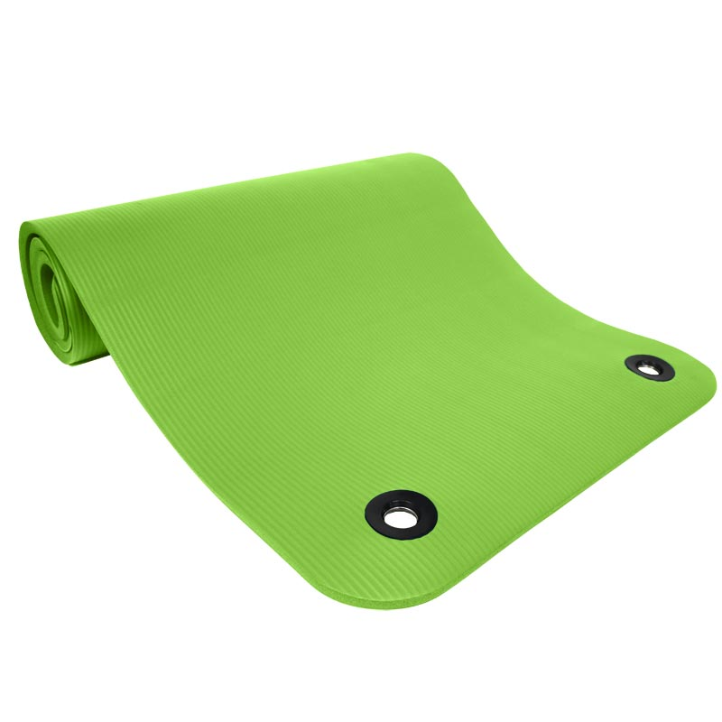 Beemat Premium Thick Exercise Mat with  Eyelets 140cm