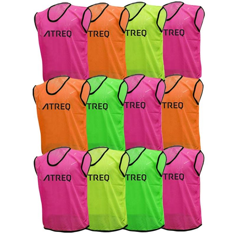 ATREQ Hi Visibility Training Bibs | 10 Pack