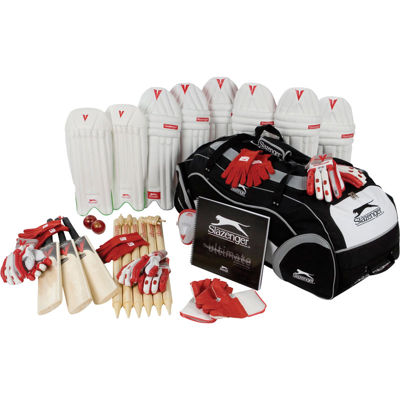 Slazenger Junior Cricket Education Kit Pack