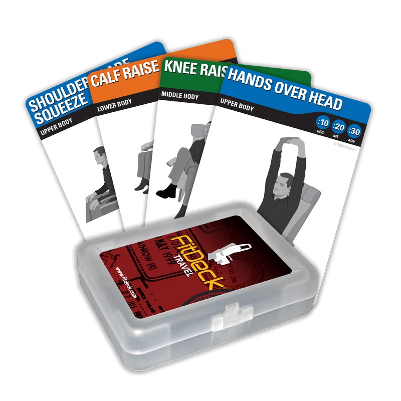 FitDeck Travel Booster Cards