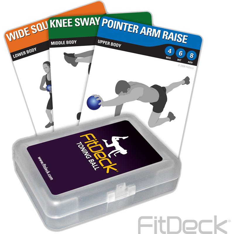 FitDeck Toning Ball Cards