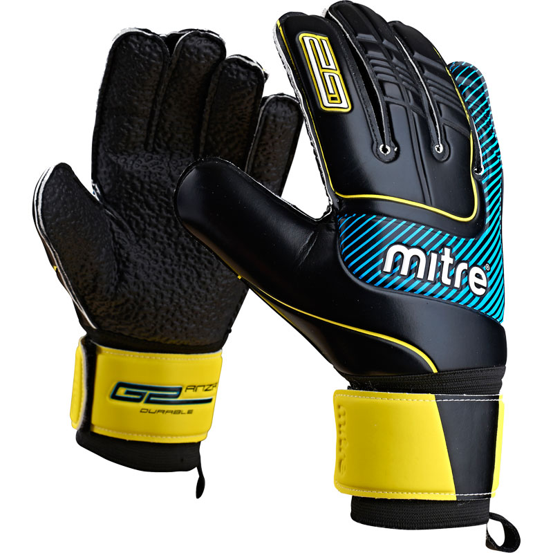 Goalkeeper Gloves Mitre Anza G2 Durable