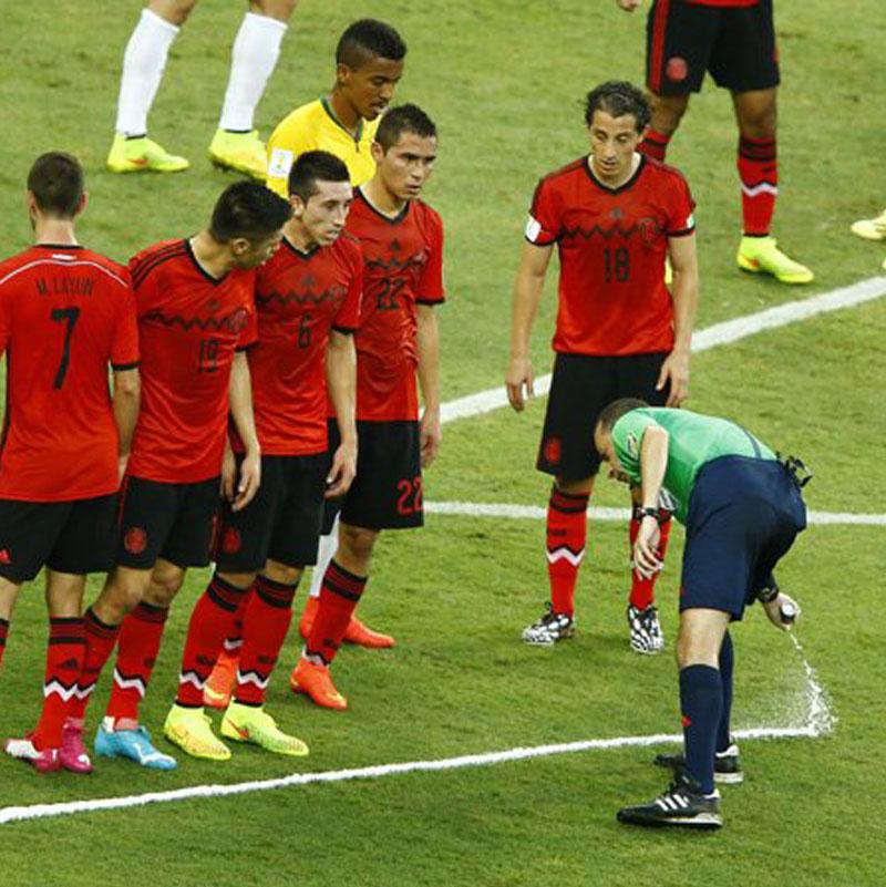 Football Referee Vanishing Spray