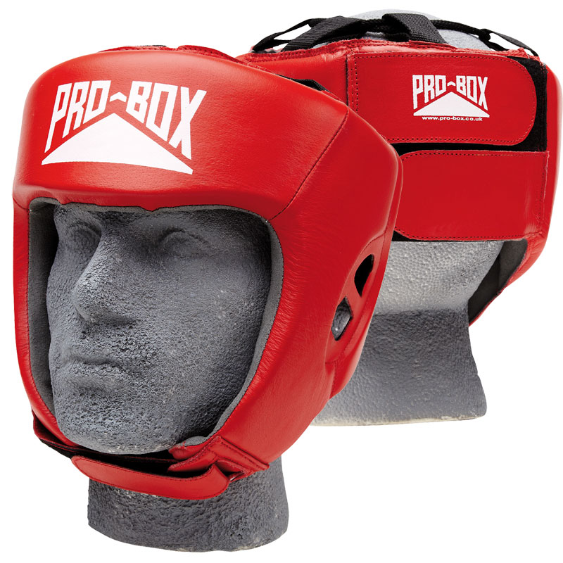 Pro Box Club Essentials Leather Headguard