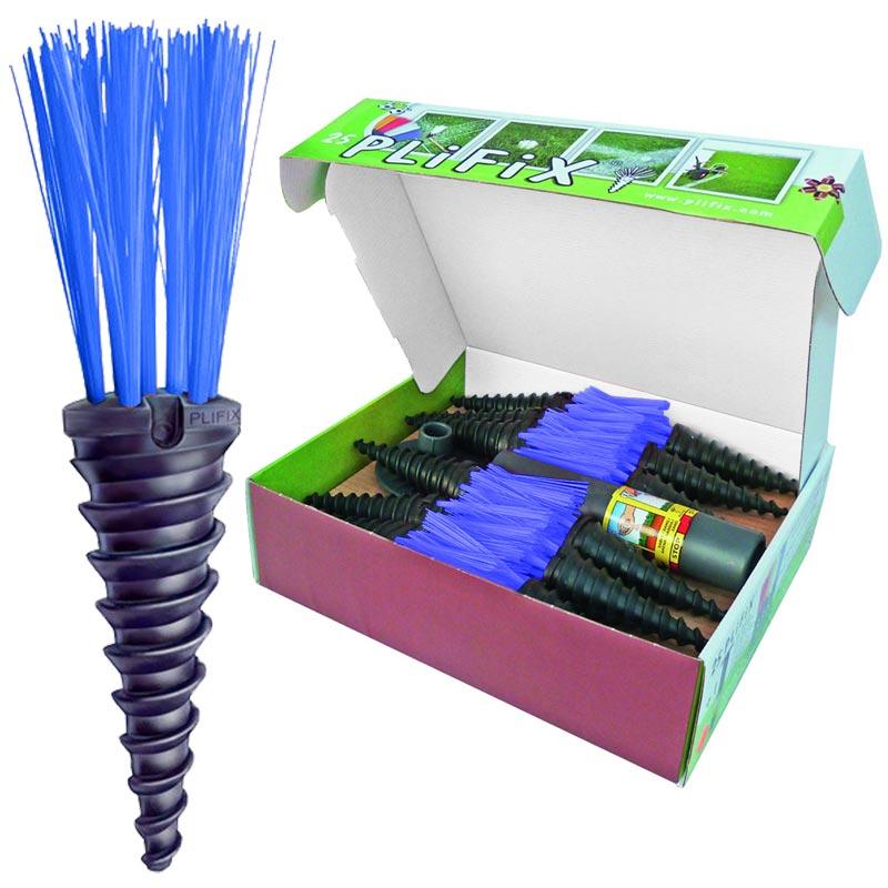 PliFix Grass Marking Carrots 25 Pack Blue