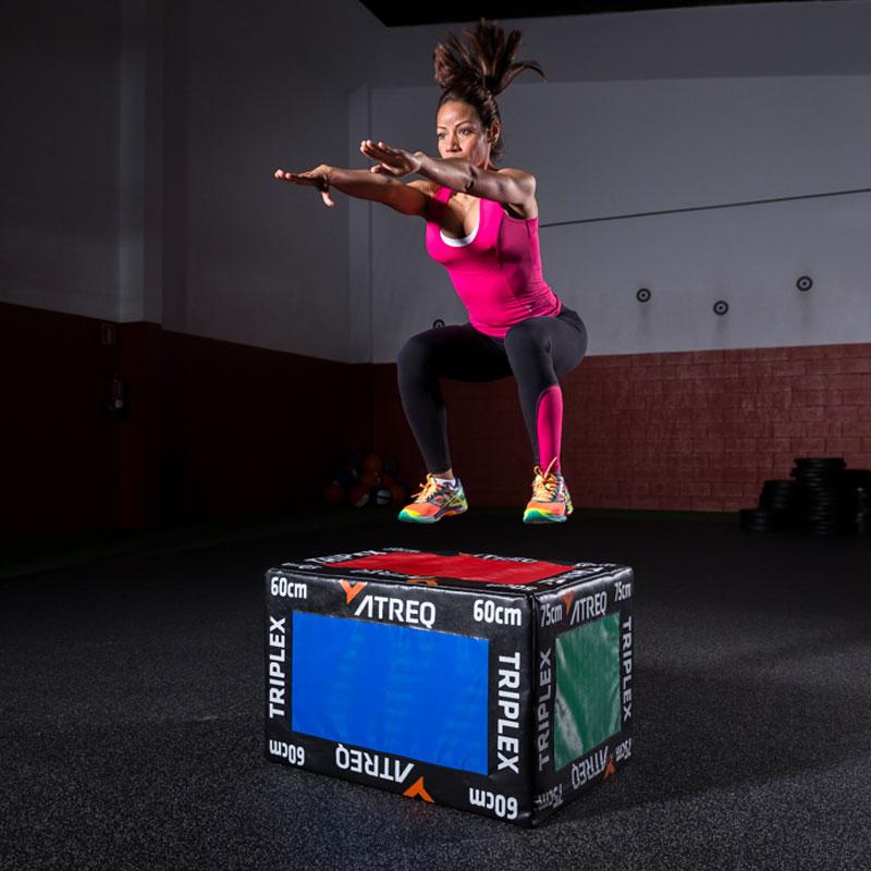 ATREQ Triplex 3 in 1 Soft Plyo Box