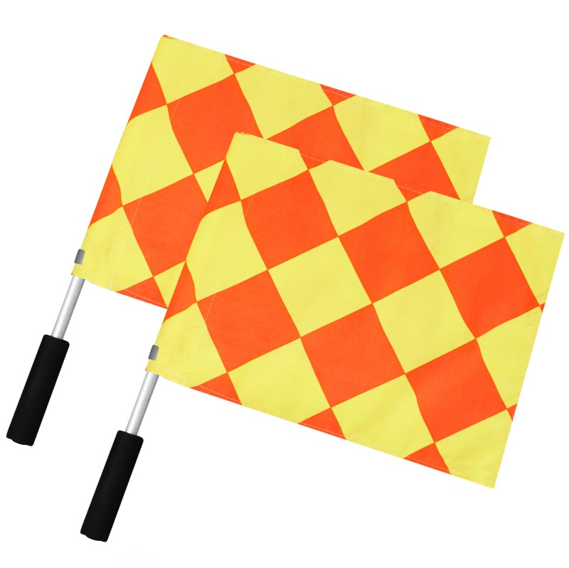 Professional Linesman Flag 2 Pack Diamond