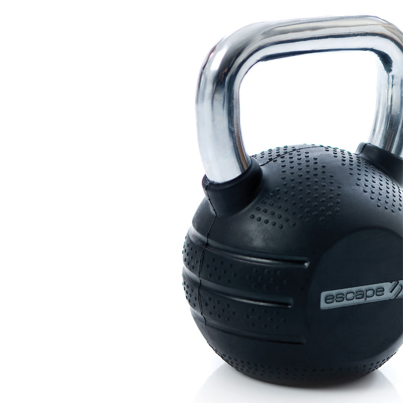 Escape Rubber Kettlebell Set