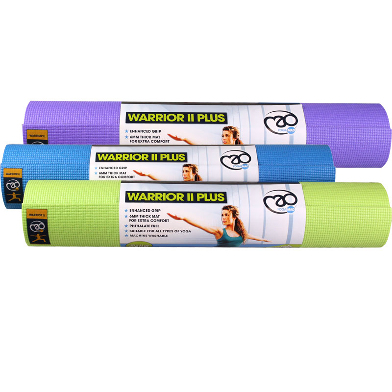 Fitness Mad Warrior II Plus Yoga Mat