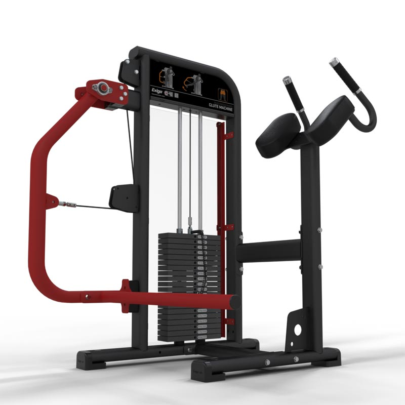 Exigo Selectorized Glute Machine