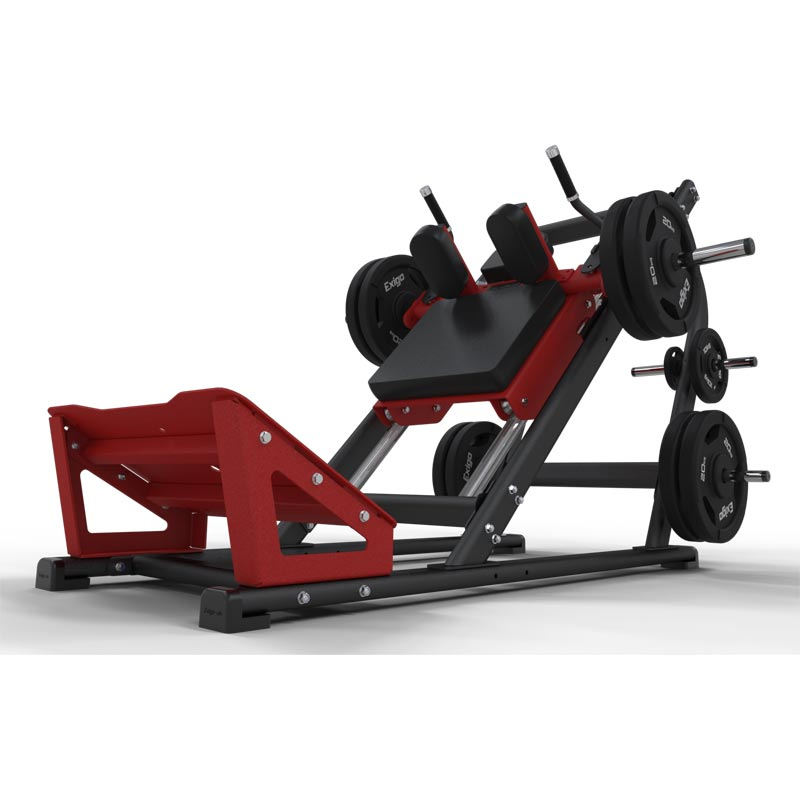 Exigo Plate Loaded 45 Degree Hack Squat Machine