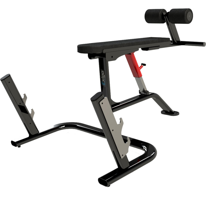 Exigo Adjustable Prone Row Bench